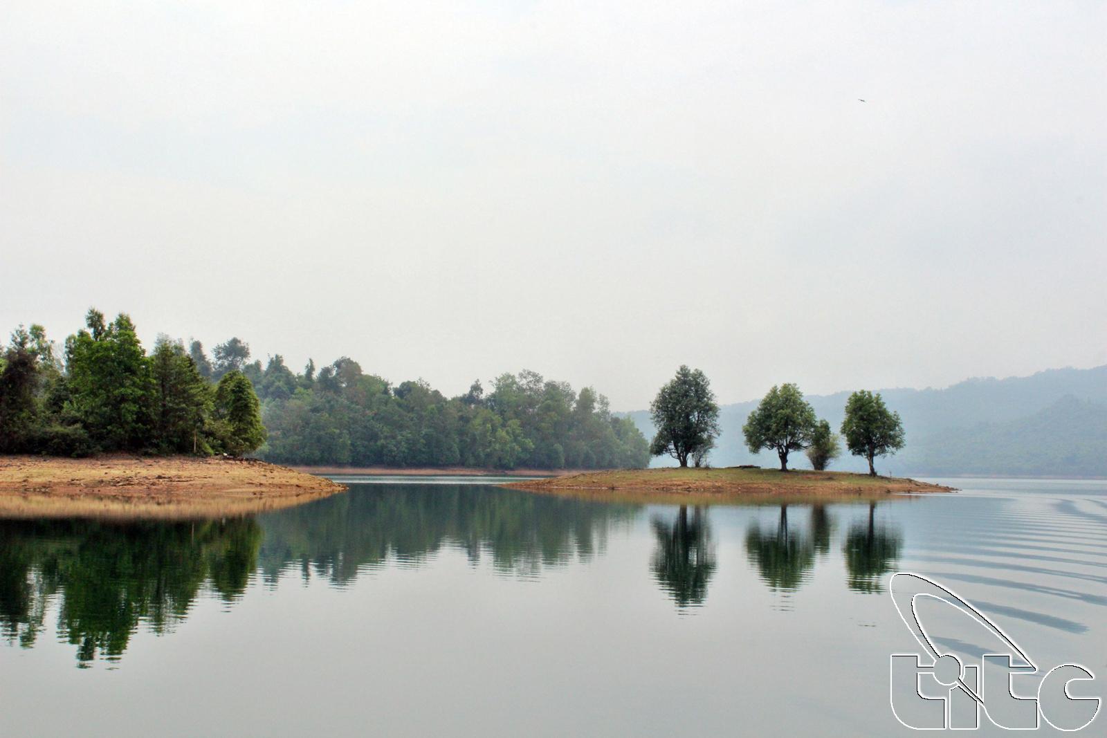 Khu du lịch sinh thái Phú Ninh (Ảnh: Khánh Luân)