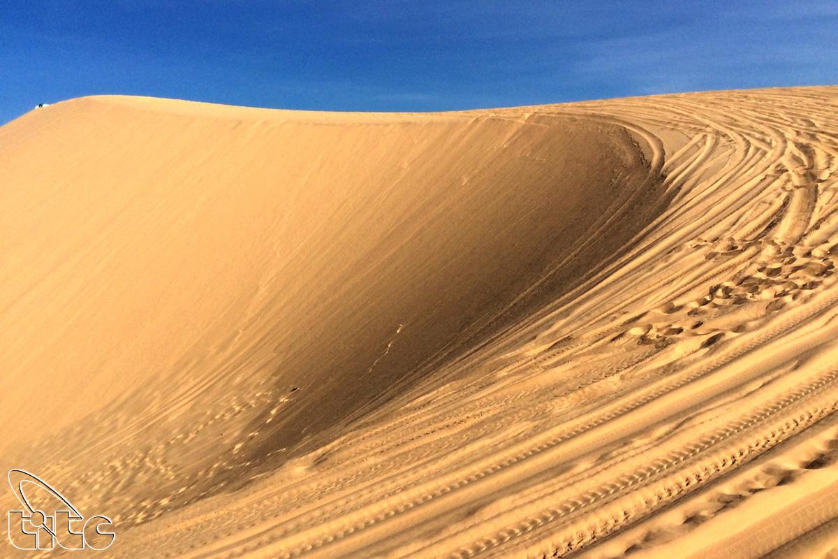 Đồi cát Bàu Trắng - Bình Thuận (Ảnh: Nguyên Thu)