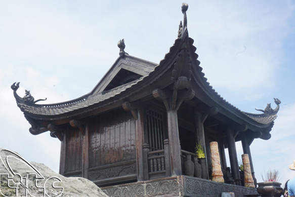 Non thiêng Yên Tử - Quảng Ninh (Ảnh: Nguyên Thu)