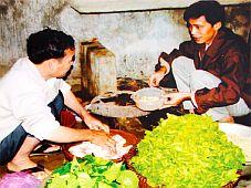 Độc đáo món ăn của người Tày ở Tả Phời (Lào Cai)