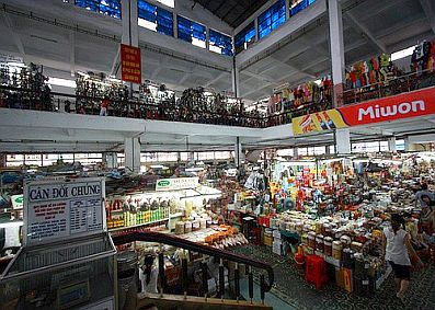 Chợ văn minh Đà Nẵng