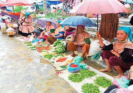 Chợ phiên Bắc Hà (Lào Cài) - nét văn hóa vùng cao