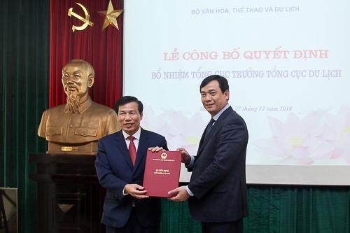 Lễ công bố Quyết định bổ nhiệm Tổng cục trưởng Tổng cục Du lịch