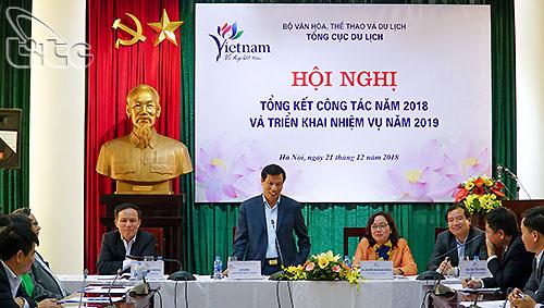Tổng cục Du lịch tổ chức Hội nghị tổng kết công tác năm 2018 và triển khai nhiệm vụ năm 2019