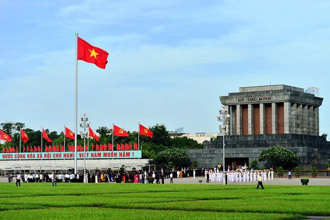 Thực hiện biện pháp cảnh vệ tại khu vực Lăng Chủ tịch Hồ Chí Minh và Quảng trường Ba Đình