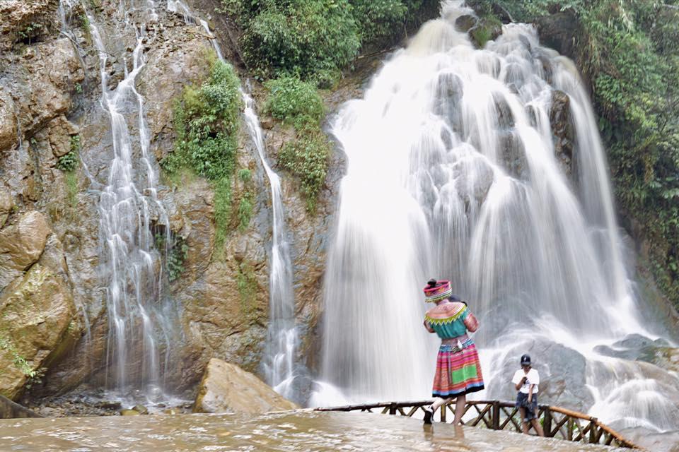 Thác Tiên Sa (Sapa) - Vẻ đẹp tự nhiên núi rừng Tây Bắc