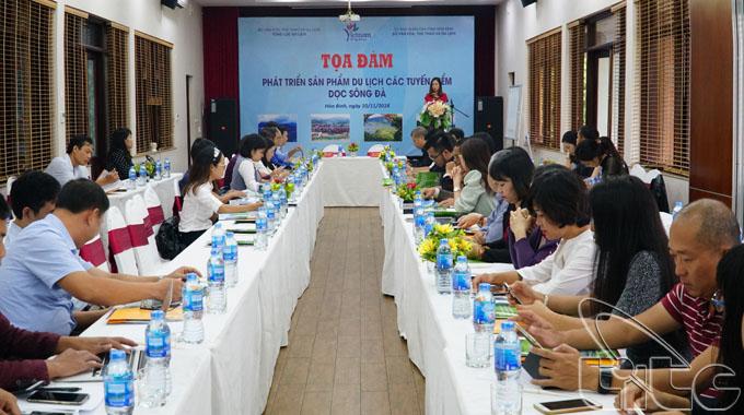 Tọa đàm phát triển sản phẩm du lịch các tuyến điểm dọc sông Đà