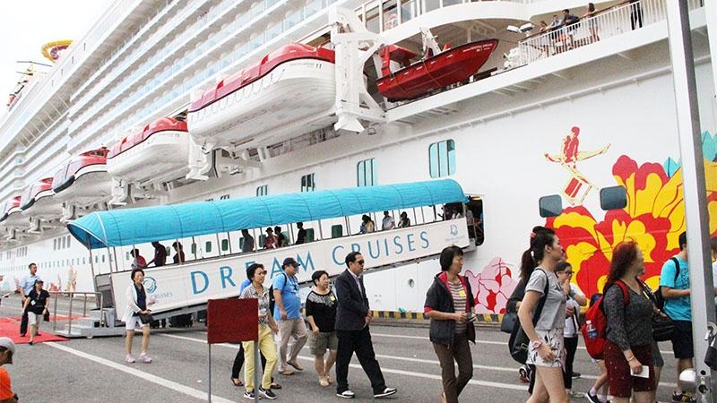 2.300 khách quốc tế đến Đà Nẵng bằng tàu biển