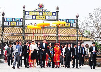 Năm 2019, Thừa Thiên Huế phấn đấu đạt 2,5 triệu khách du lịch quốc tế