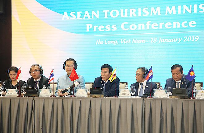 Bộ trưởng Du lịch ASEAN thống nhất nhiều nội dung quan trọng về hợp tác du lịch trong khu vực