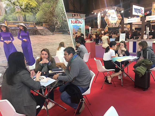 Du lịch Việt Nam tham gia Hội chợ FITUR tại Tây Ban Nha