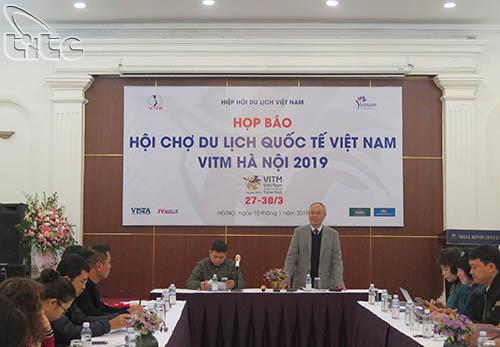 Hội chợ du lịch quốc tế VITM Hà Nội 2019 sẽ diễn ra vào cuối tháng 3 với nhiều hoạt động đặc sắc