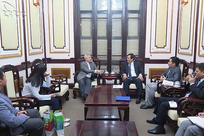 Tổng cục trưởng Nguyễn Trùng Khánh tiếp Đại sứ Indonesia