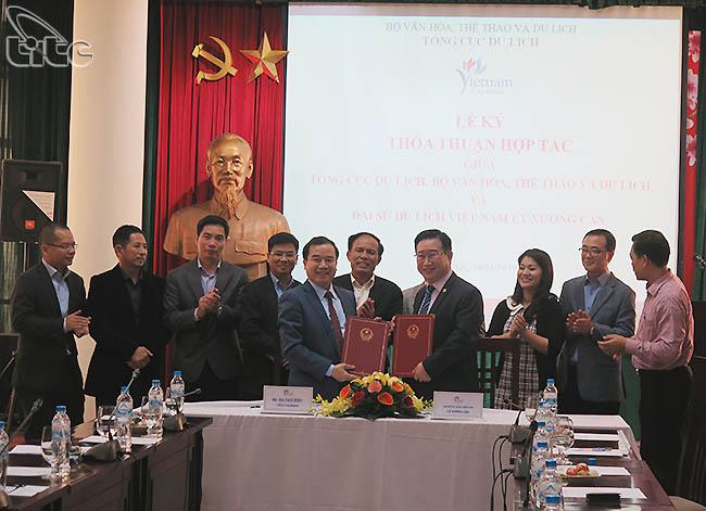 Tổng cục Du lịch ký kết thỏa thuận hợp tác với Đại sứ Du lịch Lý Xương Căn