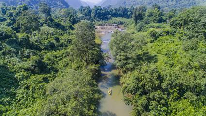 Khám phá thiên nhiên rừng Gáo - hang Ozo - hang Hoàn Mỹ
