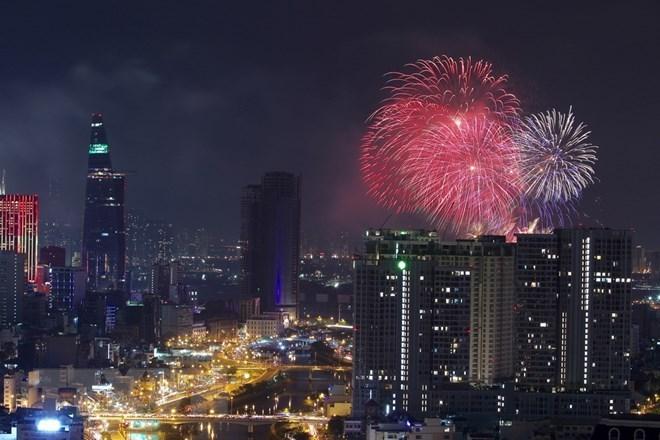 TP.HCM sẽ bắn pháo hoa tầm cao tại khu vực hầm vượt sông Sài Gòn