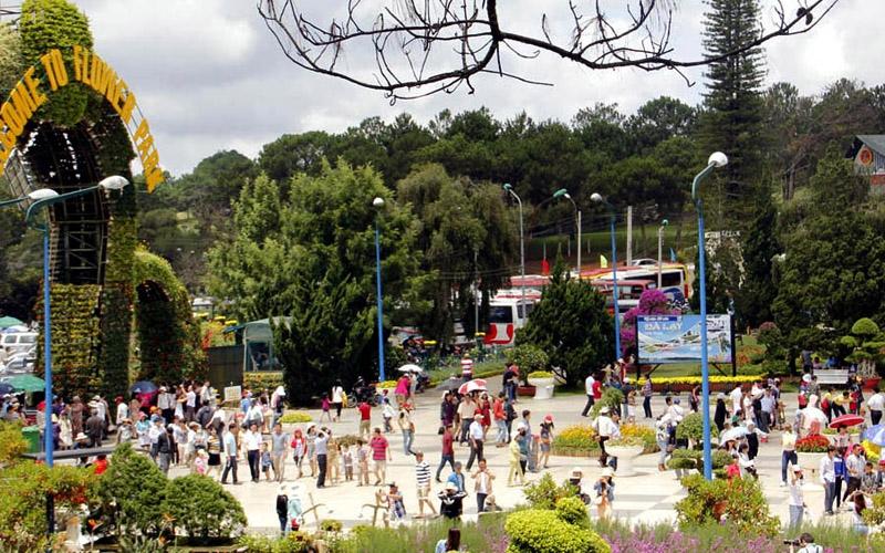 Đà Lạt đón hơn 130 nghìn lượt du khách dịp Tết Dương lịch