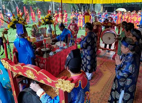 Thừa Thiên – Huế: Tái hiện Nghi lễ dựng nêu trong ngày Tết cổ truyền dân tộc
