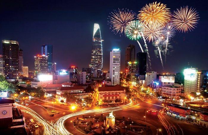 TP Hồ Chí Minh tổ chức 6 điểm bắn pháo hoa dịp Tết Nguyên đán