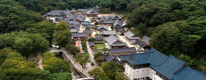 Tham quan ngôi chùa có ngọn nến 1.300 năm không tắt ở Hàn Quốc
