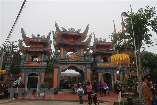 Khánh thành tu bổ ngôi chùa có diện tích 10.000m2 tại Hải Dương