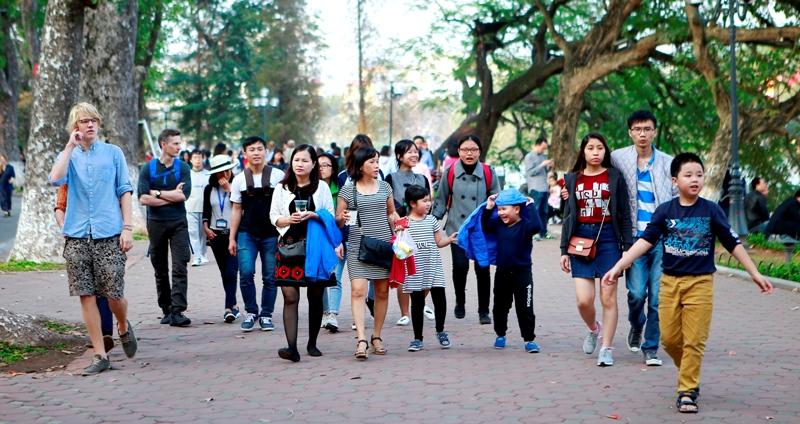 Gần 2,3 triệu khách du lịch đến Hà Nội trong tháng 10-2019