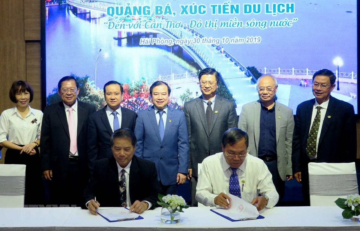 Cần Thơ-Hải Phòng ký kết hợp tác chung về phát triển du lịch