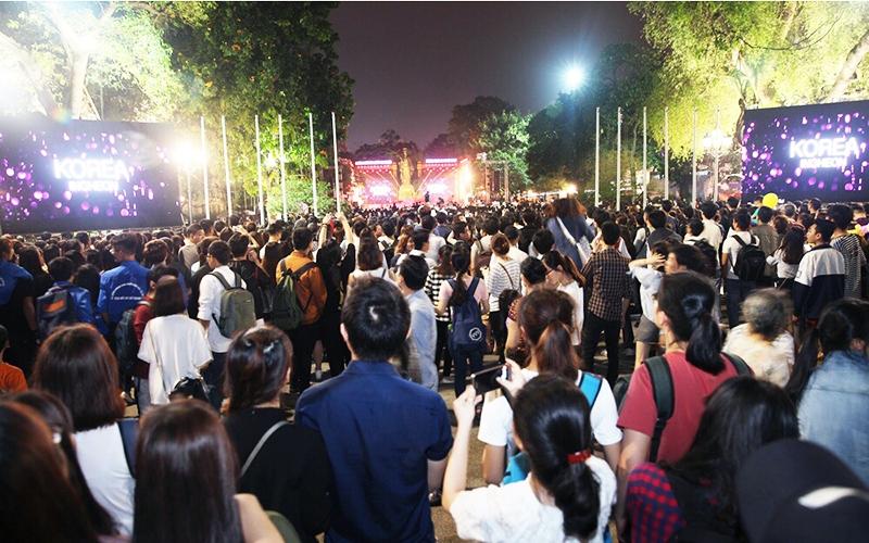 Triển lãm du lịch và giao lưu văn hóa Hàn Quốc tại TP Hồ Chí Minh