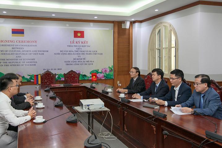 Dấu ấn thỏa thuận hợp tác du lịch giữa Việt Nam – Armenia