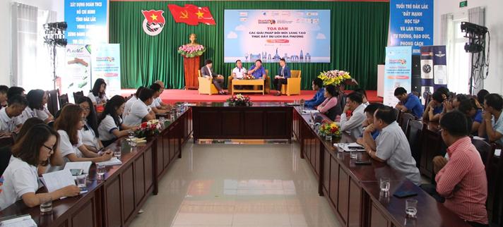 Đắk Lắk: Tọa đàm các giải pháp đổi mới sáng tạo thúc đẩy du lịch địa phương