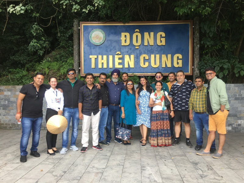 Đoàn Famtrip Ấn Độ khảo sát du lịch Quảng Ninh