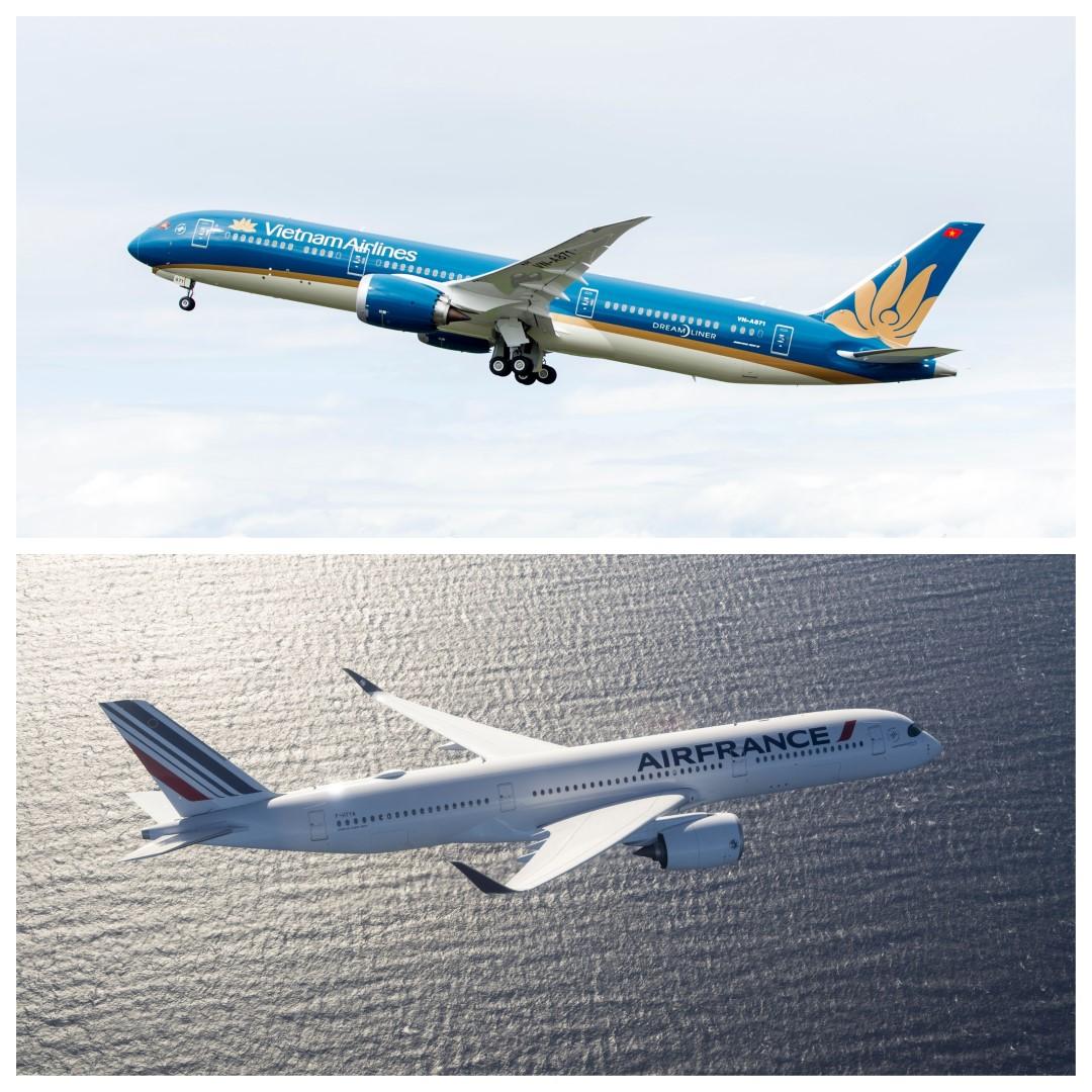 Liên doanh Vietnam Airlines và Air France đã vận chuyển hơn nửa triệu lượt hành khách
