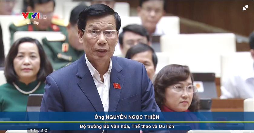 Bộ trưởng Nguyễn Ngọc Thiện: Khách du lịch quốc tế đến Việt Nam tăng gần gấp đôi trong giai đoạn 2015-2018