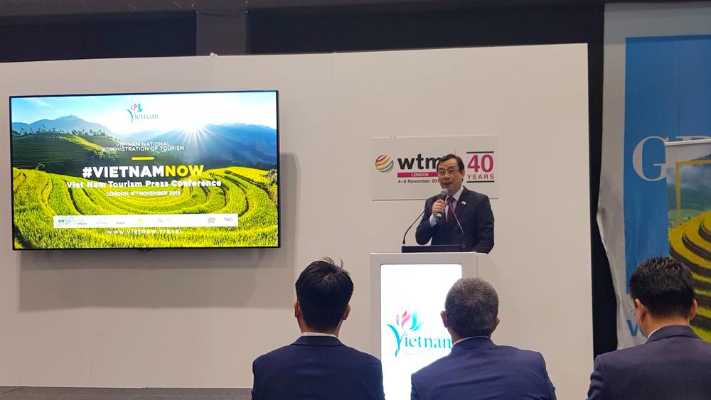 Du lịch Việt Nam thu hút truyền thông quốc tế tại WTM London 2019