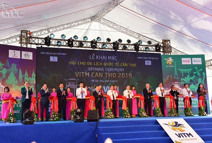 Khai mạc Hội chợ du lịch quốc tế VITM Cần Thơ 2019
