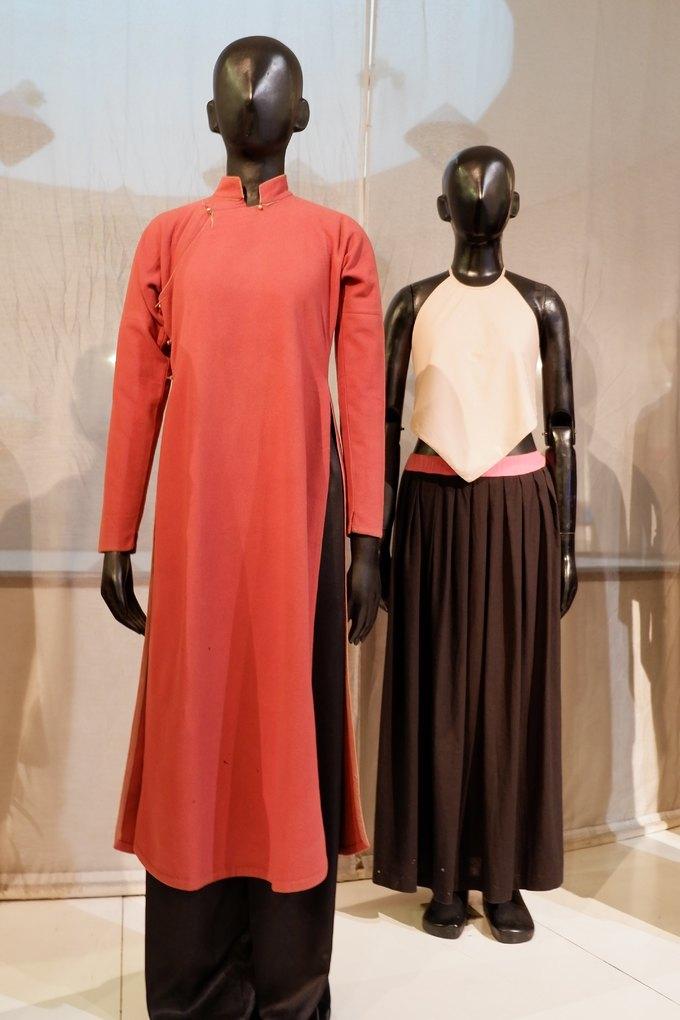 Trưng bày áo dài Việt Nam qua các thời kỳ