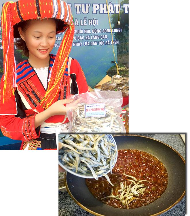 Đặc sản cá khô Na Hang, Lâm Bình