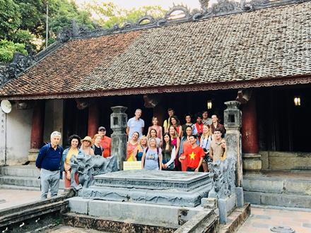 Đoàn Famtrip các hãng lữ hành châu Âu khảo sát du lịch tại Ninh Bình