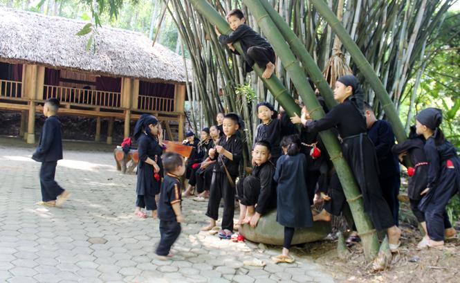 Làng nhà sàn Thái Hải  - Nơi lưu giữ và phát huy nét đẹp văn hóa Tày