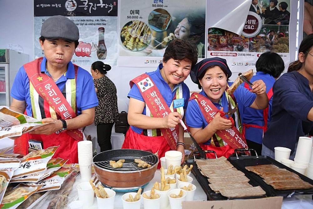 Lễ hội văn hóa và ẩm thực Hàn - Việt