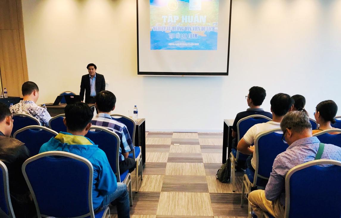 Quảng Nam: Nâng cao nghiệp vụ hướng dẫn viên du lịch tại Cù Lao Chàm