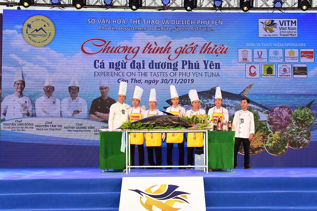 Giới thiệu cá ngừ đại dương Phú Yên tại VITM Cần Thơ