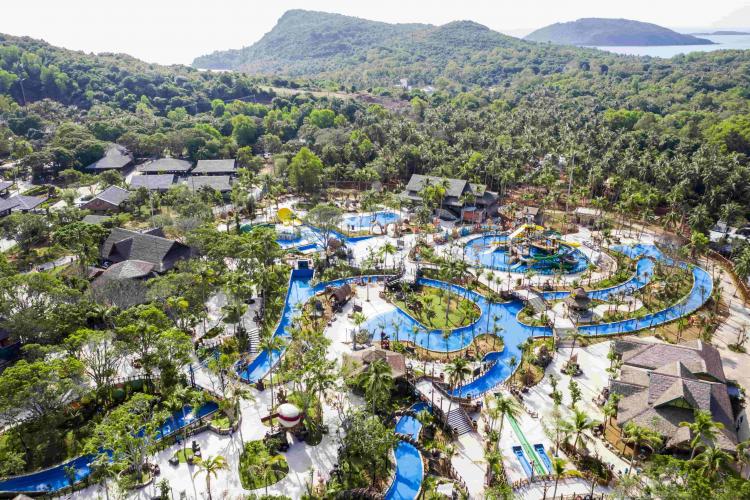 Phú Quốc – Khai trương công viên nước 8ha chủ đề hoang đảo