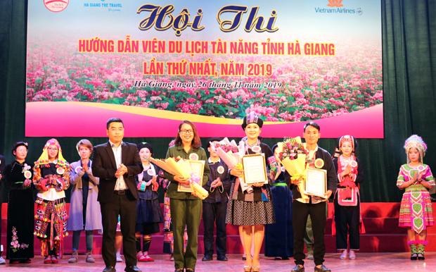 Ấn tượng Hội thi Hướng dẫn viên du lịch tài năng ở Hà Giang