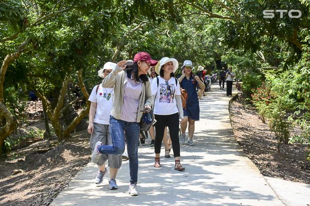 Đến Sóc Trăng trải nghiệm du lịch homestay ở xứ cù lao Dung