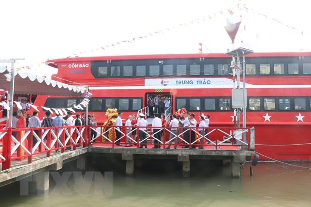 Khai trương tuyến tàu cao tốc Cần Thơ-Trần Đề-Côn Đảo