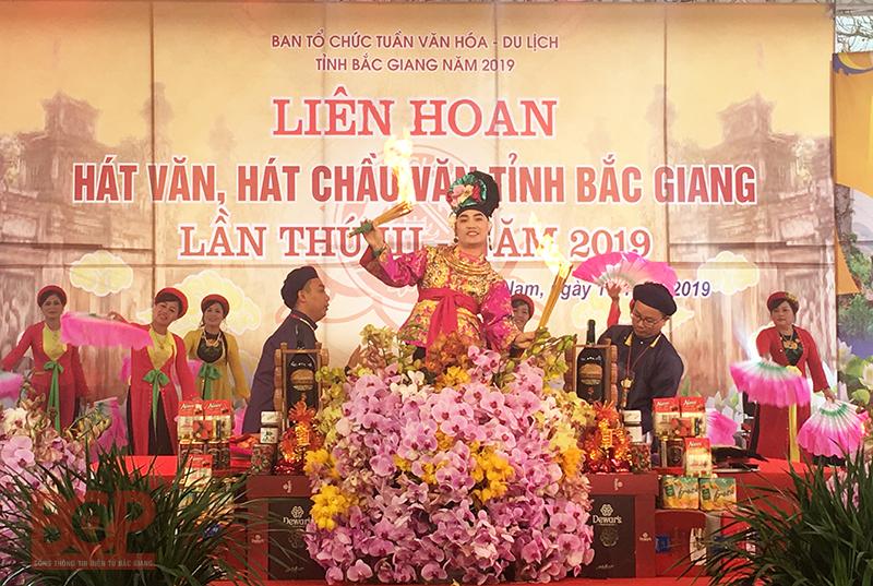 Liên hoan hát Văn, hát Chầu văn tỉnh Bắc Giang lần thứ III, năm 2019