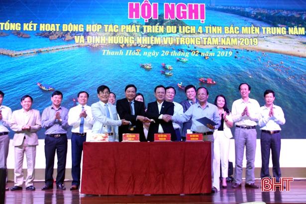 Hà Tĩnh làm Trưởng ban Điều phối hợp tác phát triển du lịch 4 tỉnh Bắc miền Trung