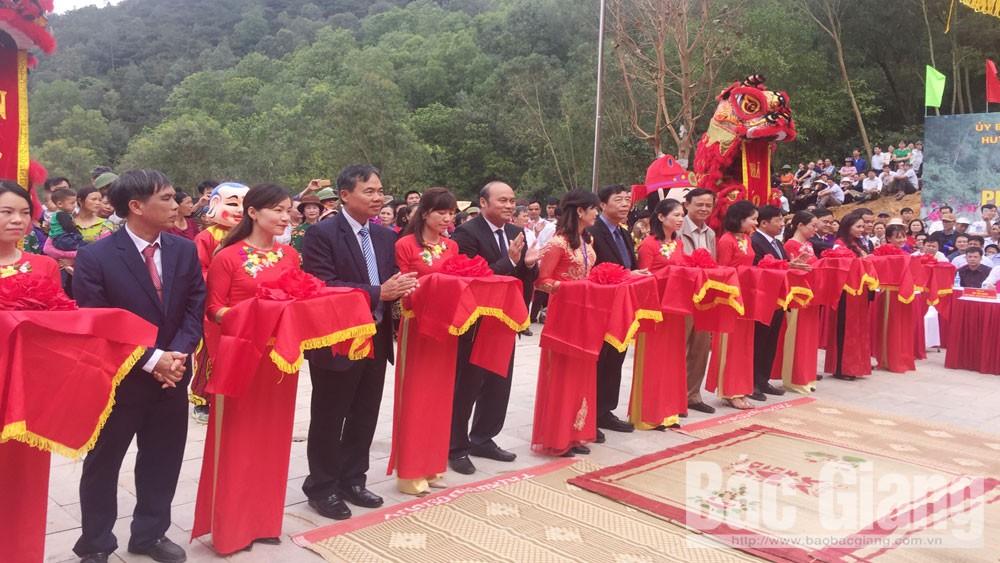 Bắc Giang khánh thành và khai hội đền Thần Nông