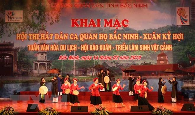 """Bắc Ninh: Sôi nổi các hoạt động hưởng ứng Festival """"Về miền Quan họ 2019"""""""
